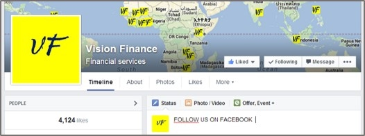 www.facebook.com/financewithvision